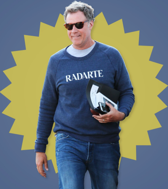 We still dream of having this sweatshirt and now even more..Will...our style guru forever