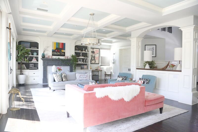 My Living Room In the spring Photo: by Ashley Beliveau for TWH
