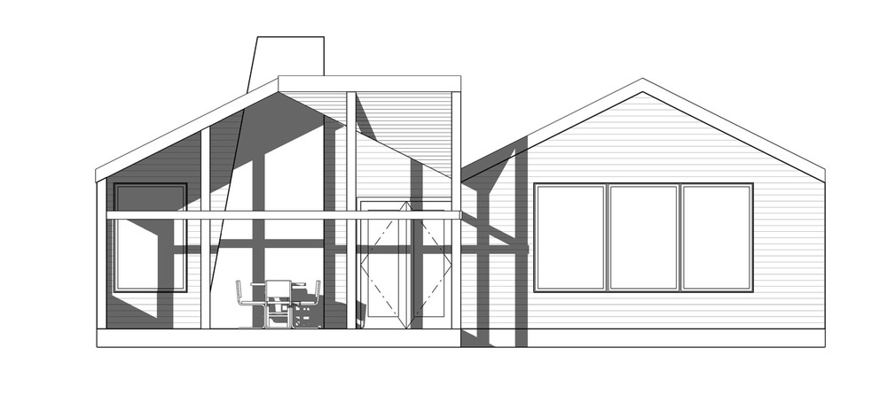 TALLstudio Architecture - Cabin - Louisville, MS