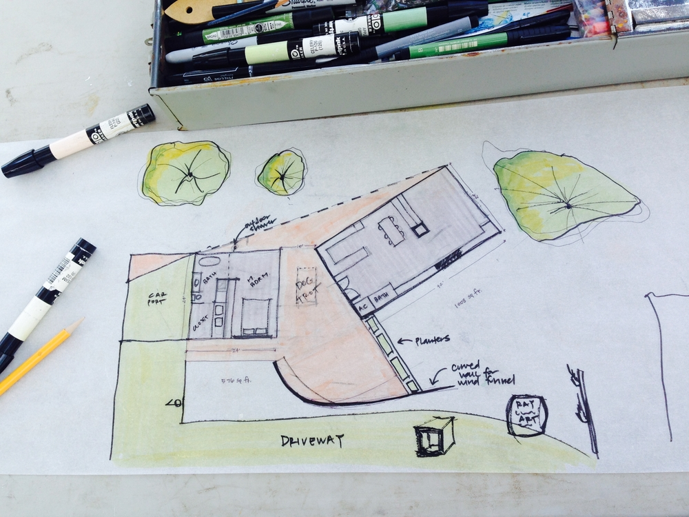 TALLstudio - Marseille - Drawing - Ocean Springs, MS