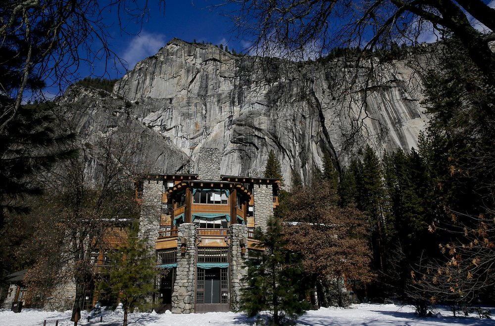 Ahwahnee Hotel, Yosemite - Architect, Gilbert Stanley Underwoodphoto: San Francisco Chronicle