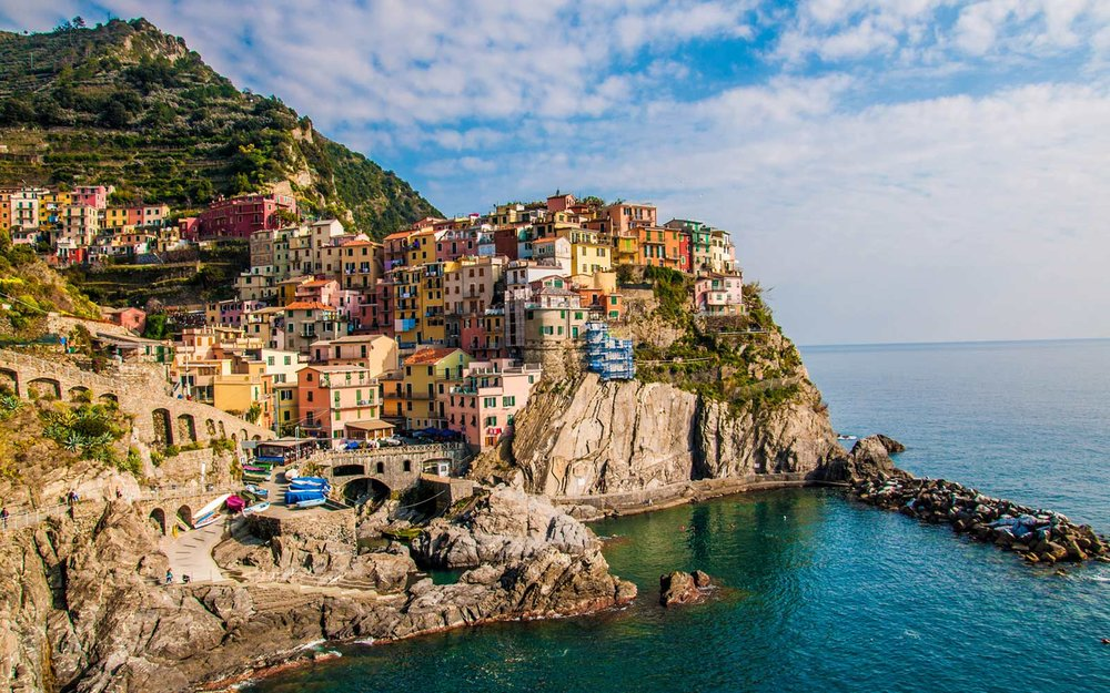 Cinque Terre, Italy - photo: Travel + Leisure.com