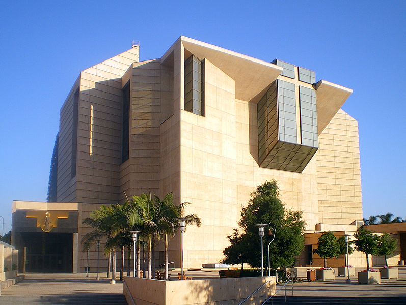 Cathedral of Our Lady of the Angels, Los Angeles - Architect, Rafael Moneophoto: Wikimedia.com