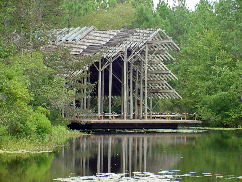 Crosby Arboretum,Picayune, MS - Architect: E. Fay Jonesphoto: gardenvisit.com