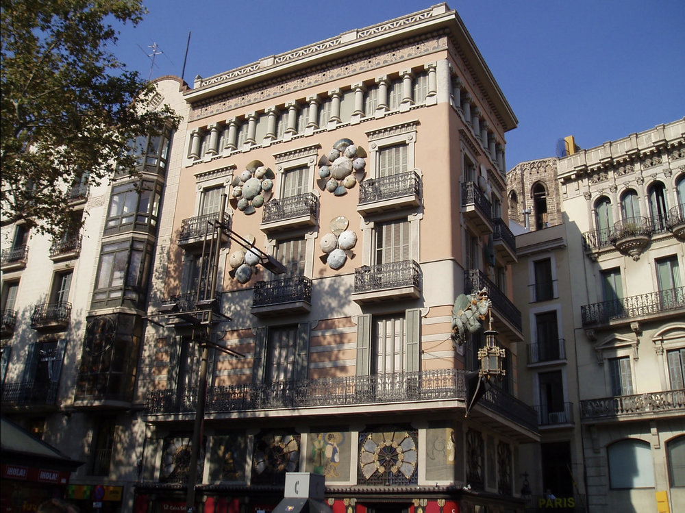 Parasol Building, Barcelona - I was mesmerized by this building on my first trip to Spain. It was my 34th birthday, and at midnight on my sister presented me with tickets to the 2nd night of Madonna's European tour in Madrid. Quite a memorable trip. No birthday has topped it yet.photo: Keith Wooten