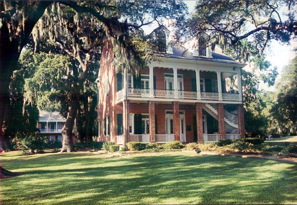 Tullis-Toledano Manor, Biloxi, MS - Tullis was such a graceful, elegant building, surrounded by incredible oak trees.  I loved that it was a place where so many people in the community celebrated important events-weddings, family reunions, and church picnics. photo: The Bottletree