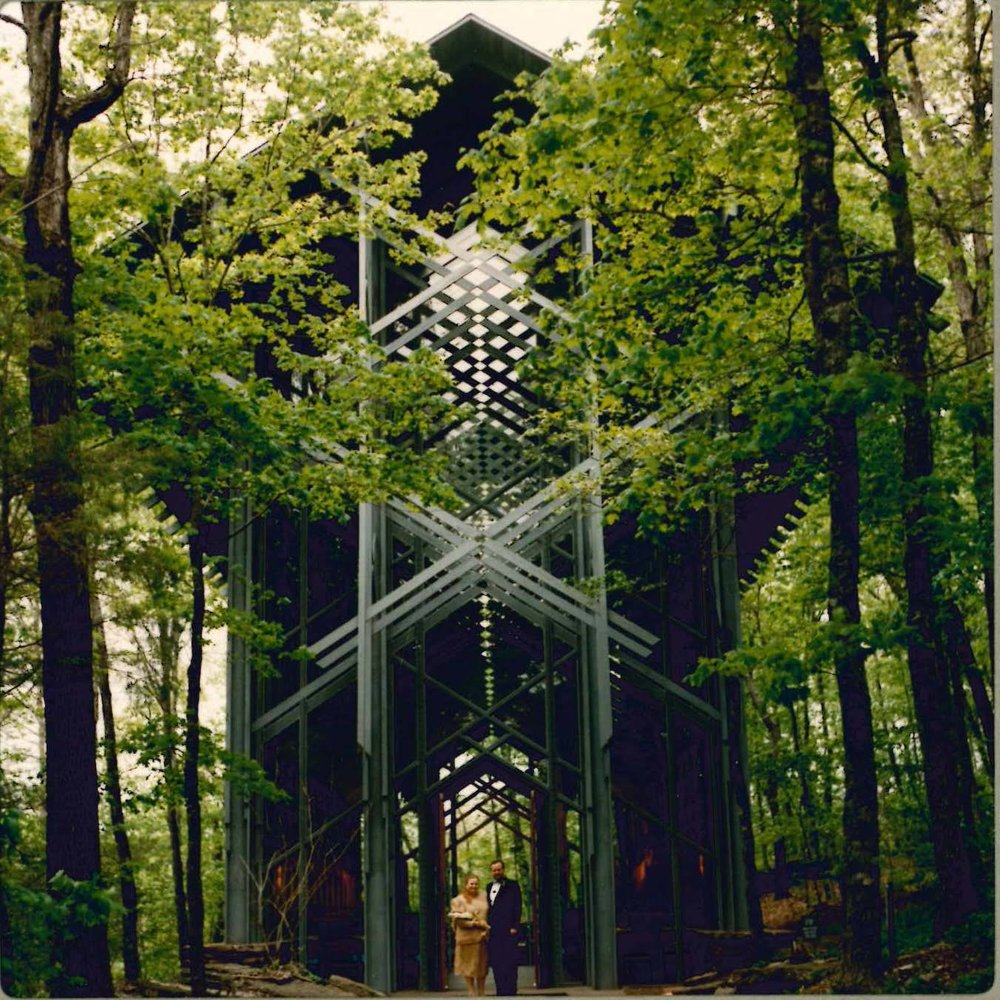 Thorncrown Chapel, Eureka Springs, AR - The chapel is a wonderful simply constructed and beautiful building -- expressing its structure and function clearly and elegantly.Architect, E. Fay Jonesphoto: Belinda Stewart