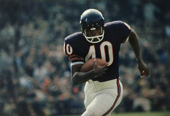 Gale Sayers #40, 1966    archival pigment print, 2016, 19 x 13 inches