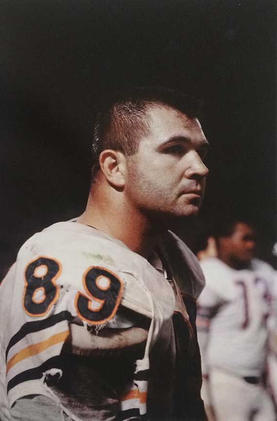 Mike Ditka # 89, 1966    archival pigment print, 2016, 13 x 19 inches
