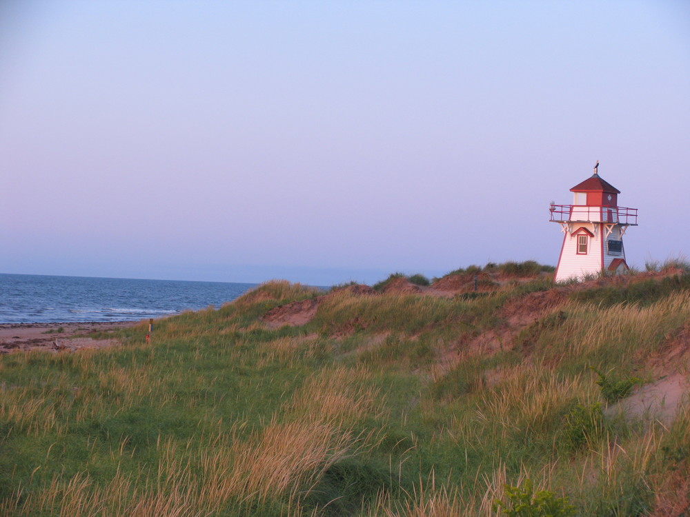 Covehead Lighthouse - 2 Km from cottages