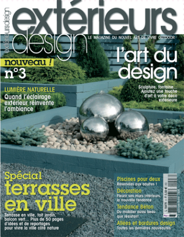 Oulu Bar & EcoLounge (designed by Dennie), was the featured in Exterieurs Design Magazine in the March 2008 Issue, pg 36.