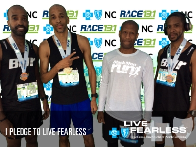 Me, patrick, ed, and roy post-race