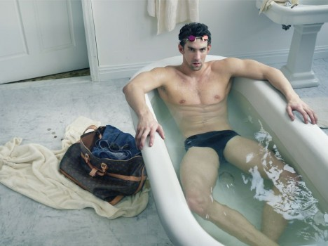 Michael Phelps for Louis Vuitton