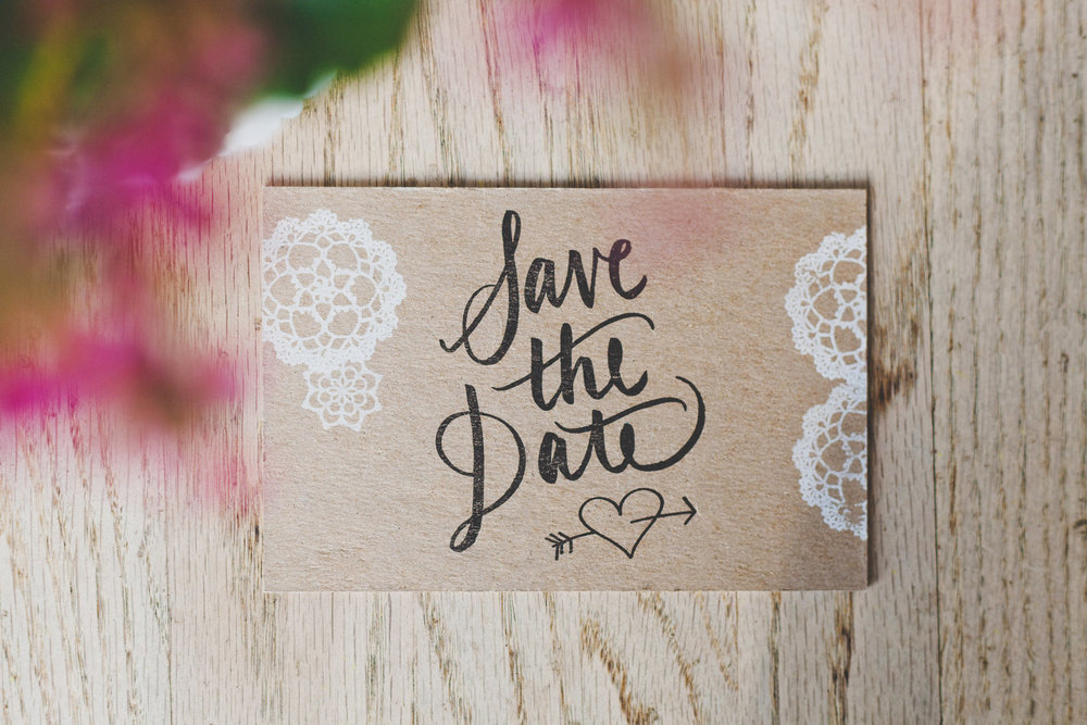 Wedding Etiquette Wednesday | Top 10 Tips for a Save the Date