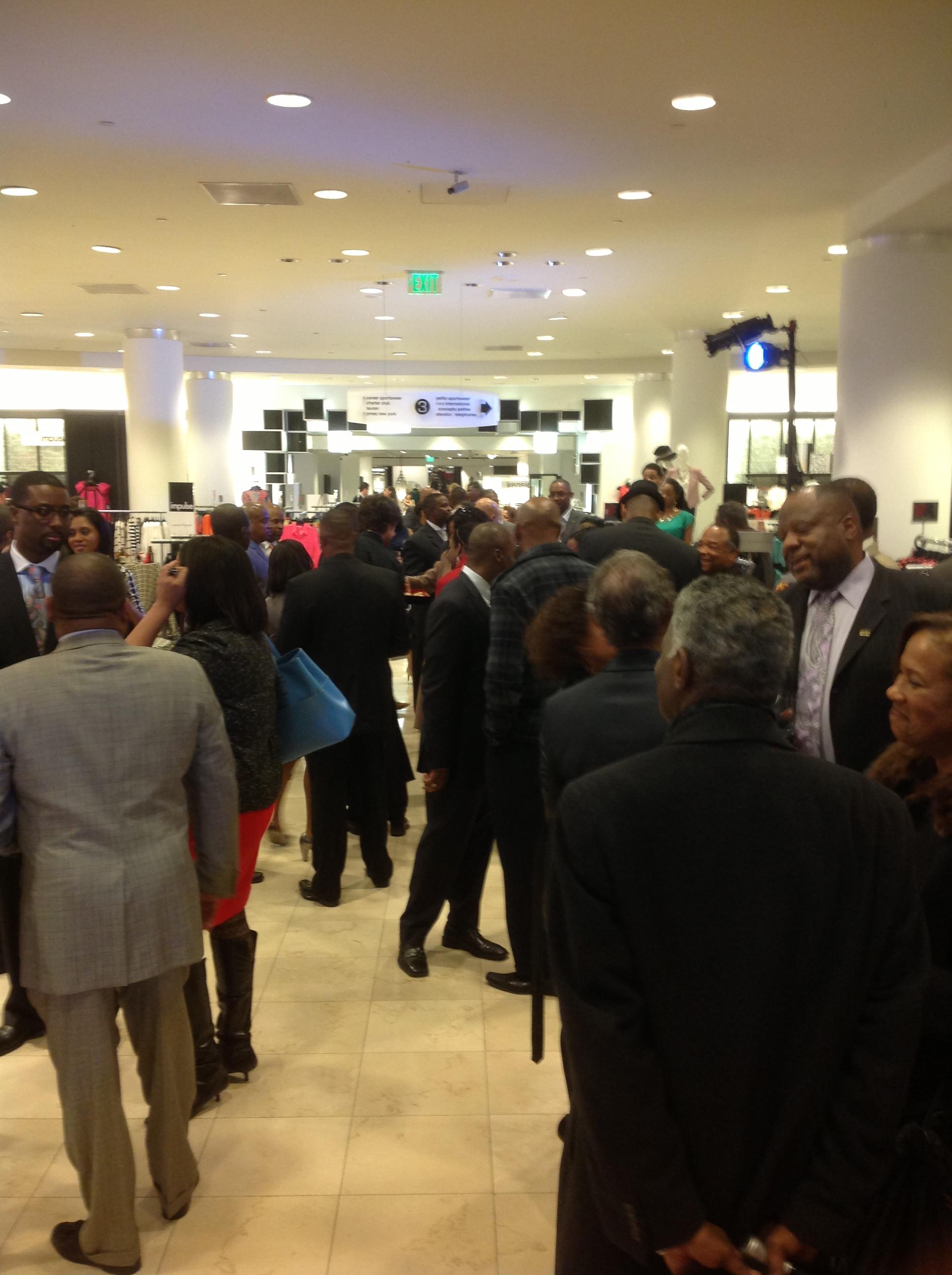 Gordon Parks 100 Black Men Celebration at Macys