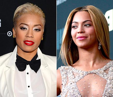Keyshia Cole Beyonce Twitter BowDown