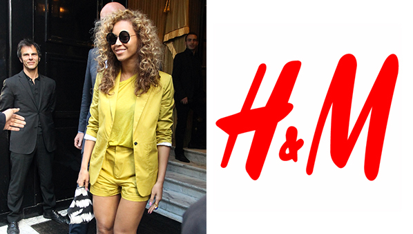 Beyonce Carter Partners with H & M
