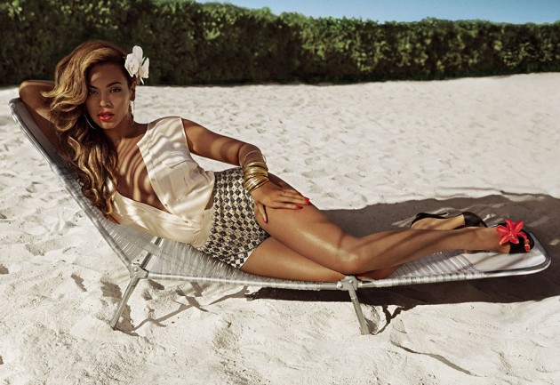 Beyonce New Face of H & M Fashion