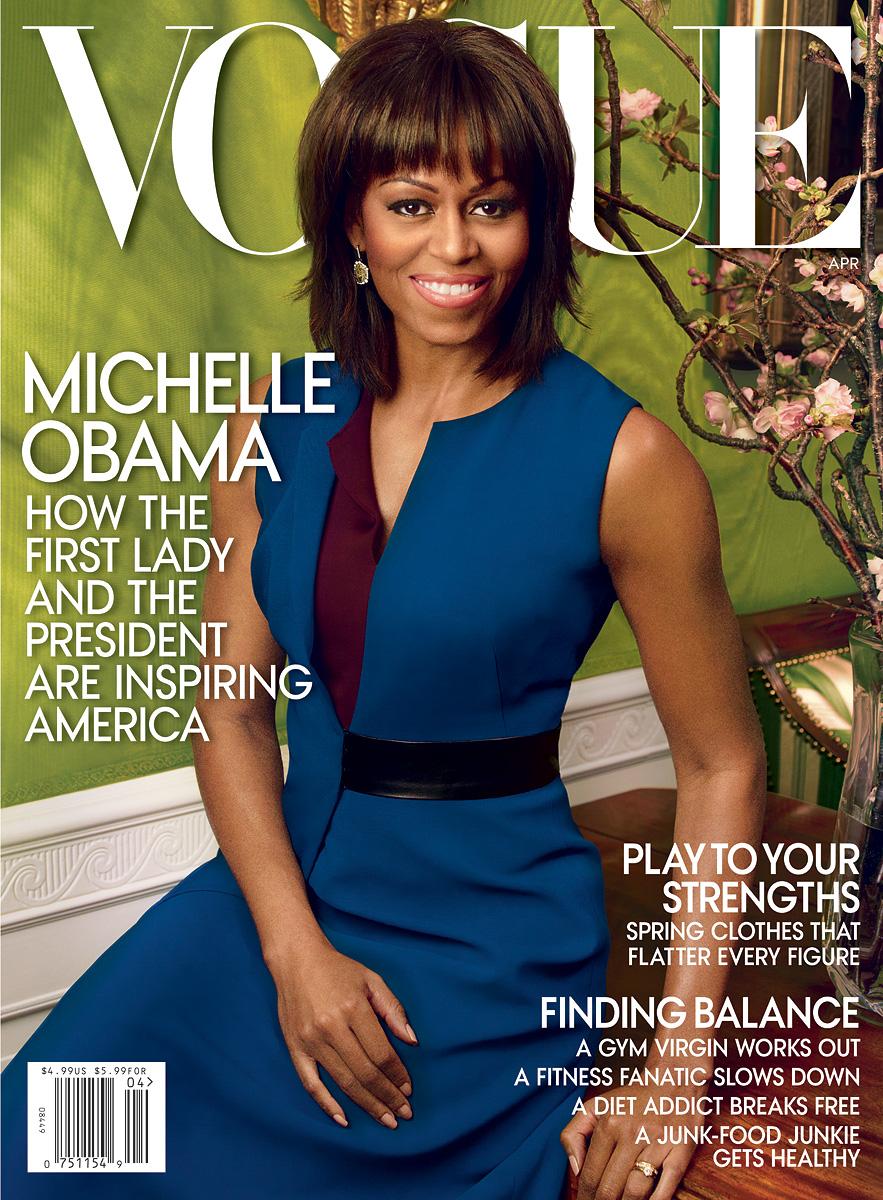 FLOTUS Michelle Obama Graces VOGUE Cover April 2013