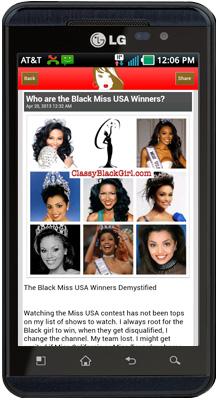 Classy Black Girl Driod App