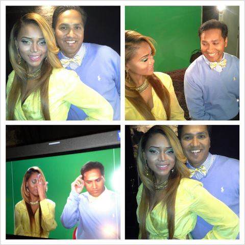 Aydin and Mariah Huq