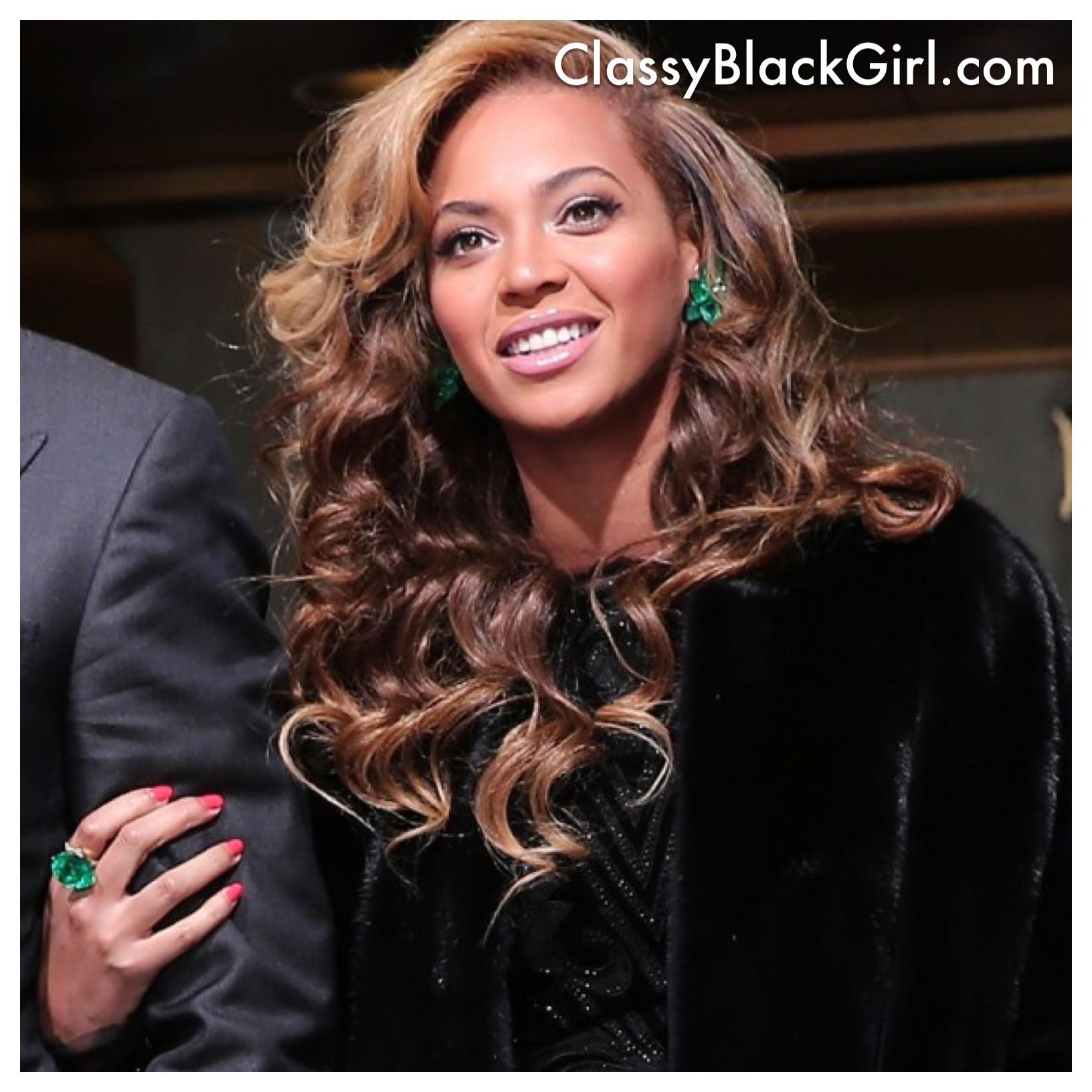 Beyonce Fashion 2013 Inauguration