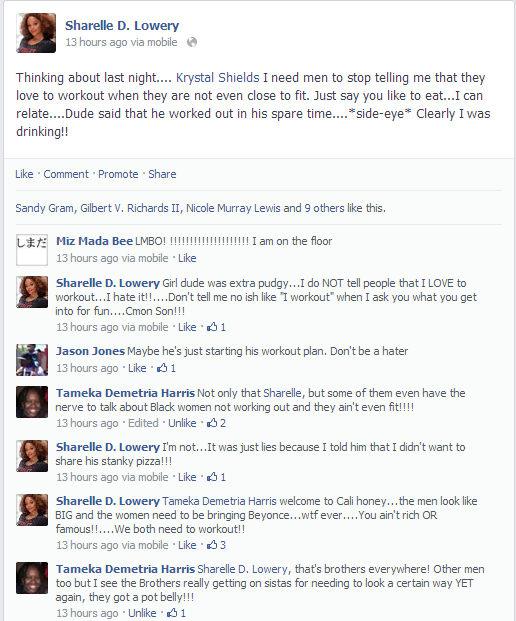 Facebook Fronting ClassyBlackGirl