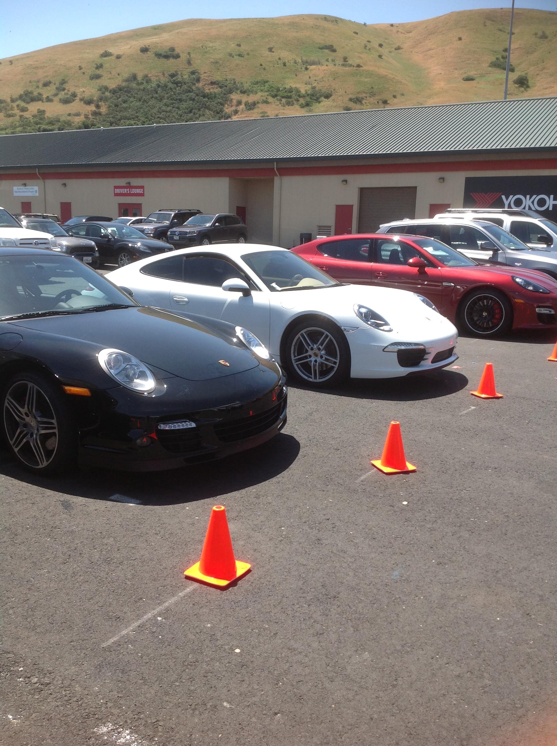 In a Row Porsche World Roadshow