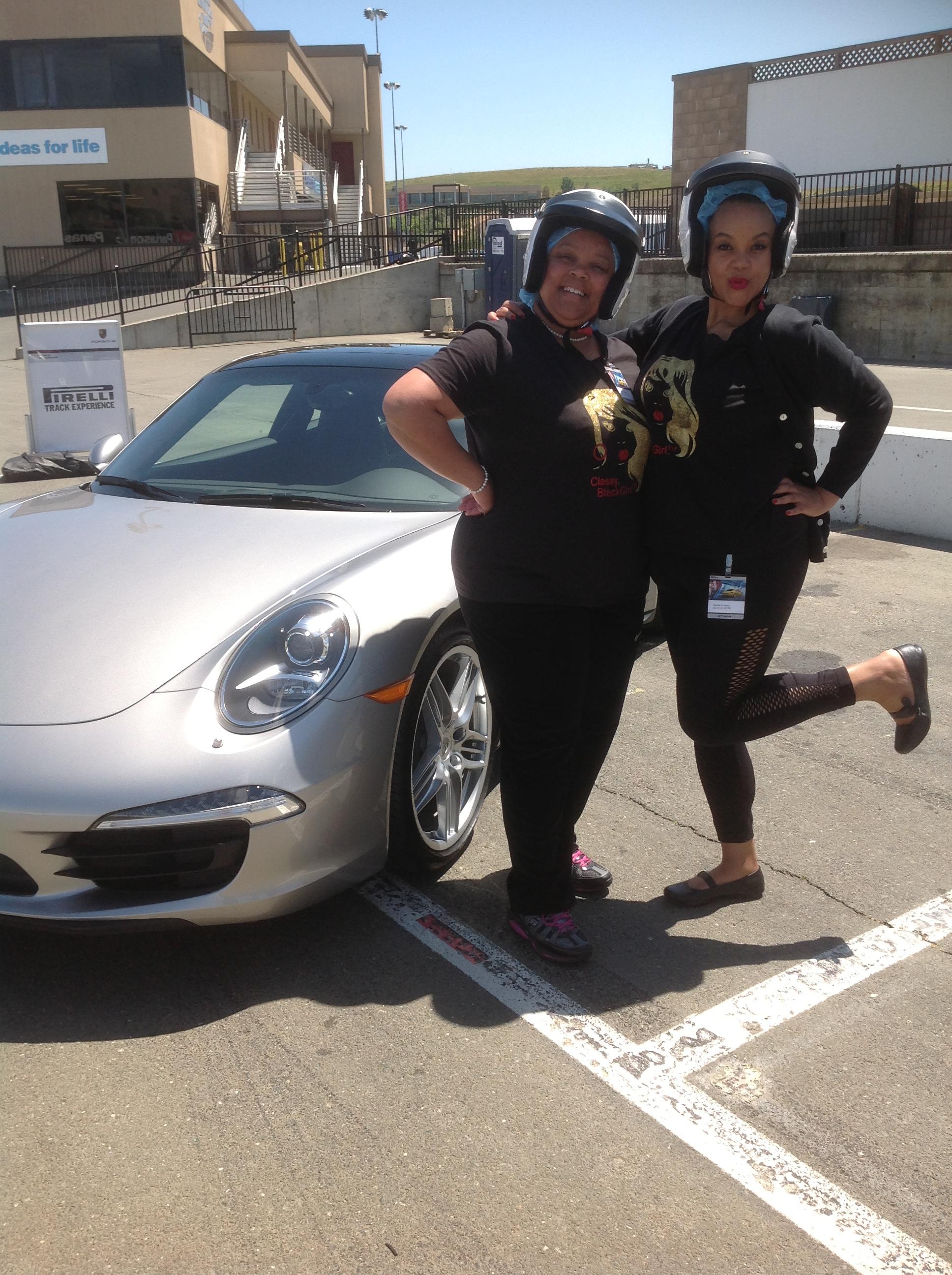 Porsche World Roadshow Me and Mommie
