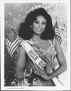 Carole Gist The First Black Miss USA Winner