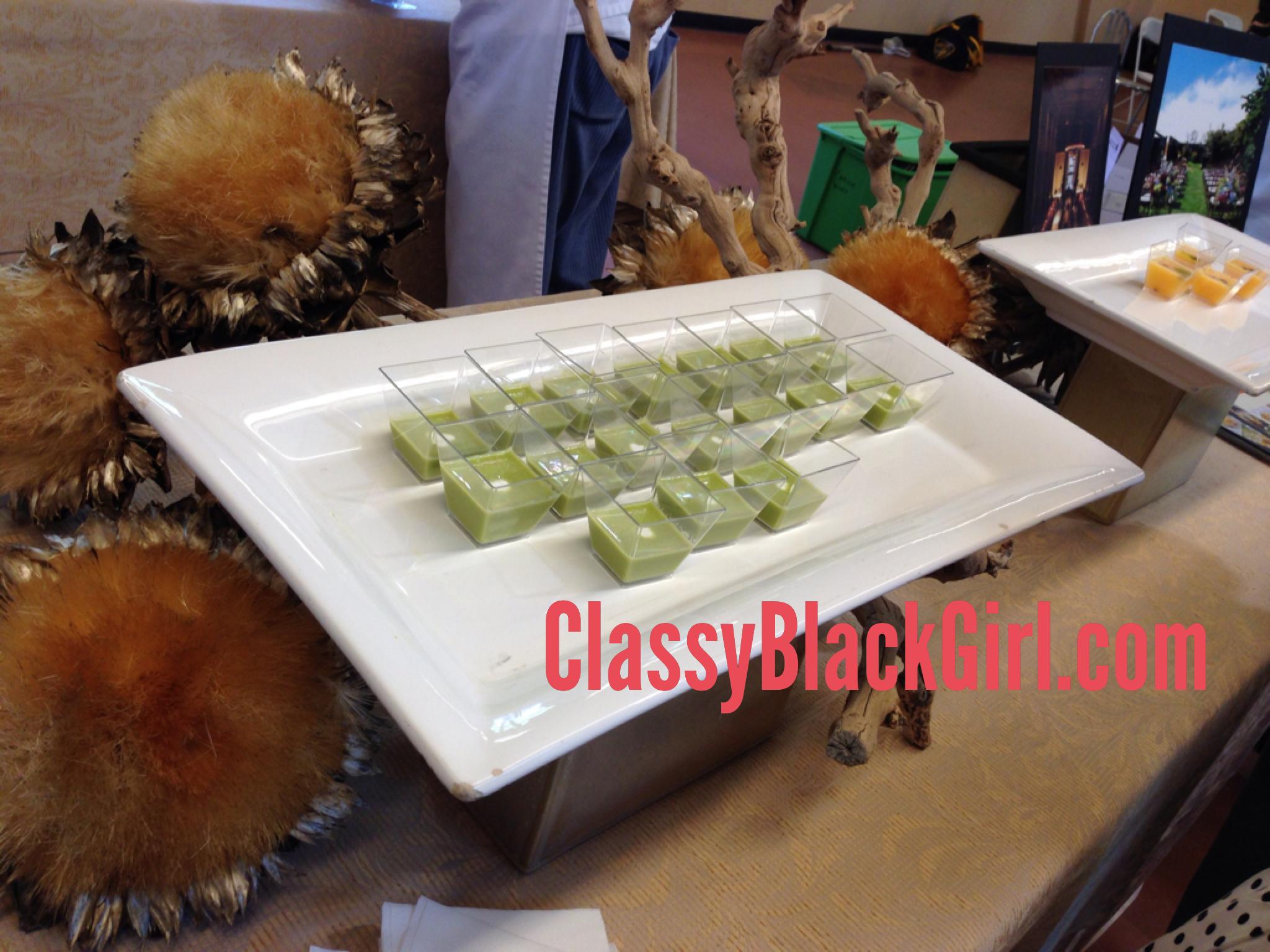 Green Food ClassyBlackGirl