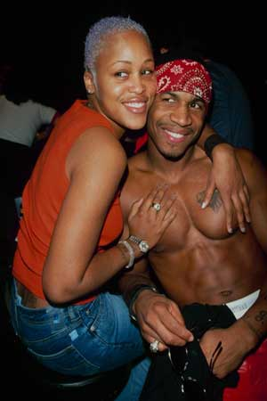 10 Years Ago Stevie J with Eve