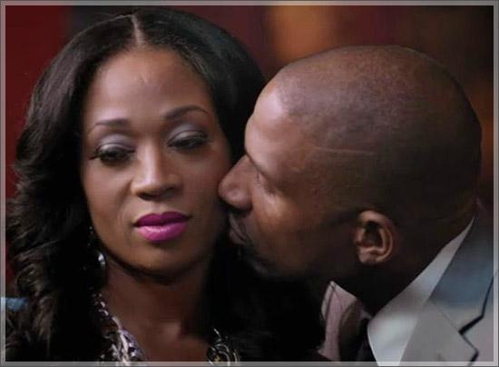 Stevie J and Mimi Sad Kiss