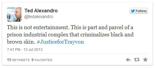 Trayvon Martin Ted Alexandro
