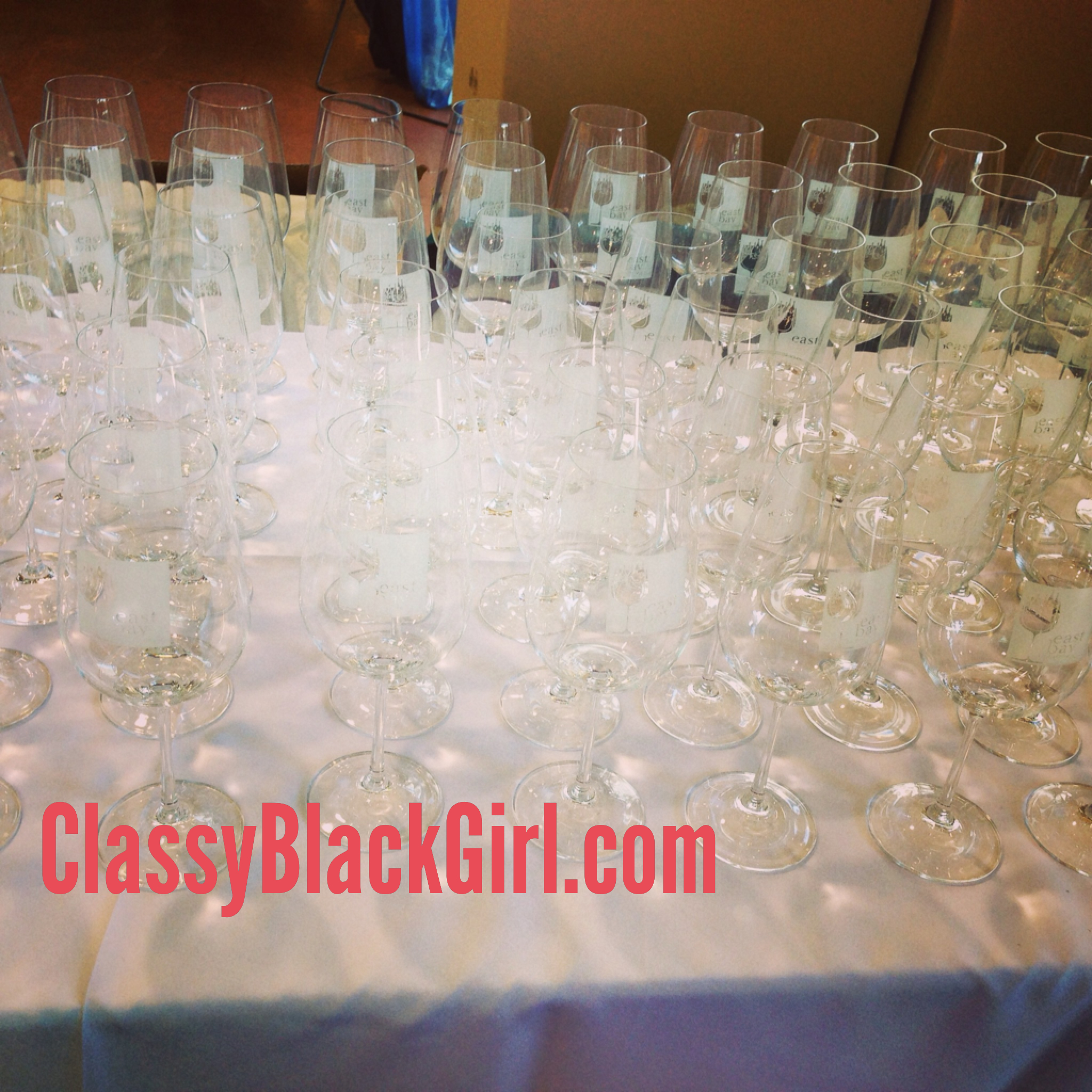 Wine Glasses ClassyBlackGirl