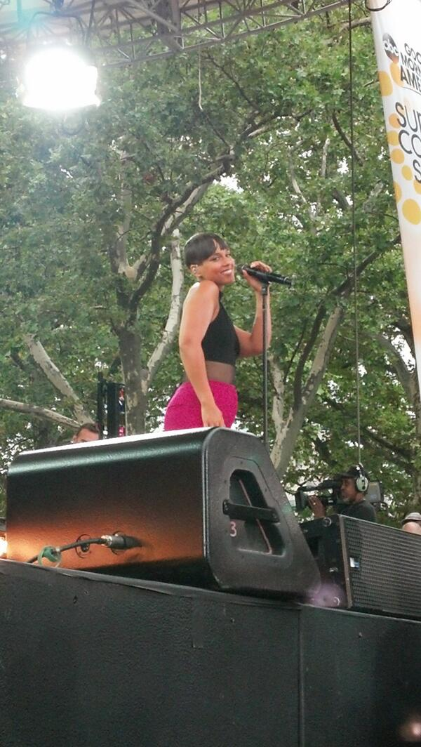 Alicia Keys GMA