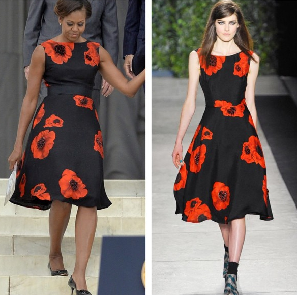 FLOTUS Michelle Obama Tracey Reese
