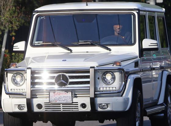 Lamar Odom Arrested Kardashian Truck