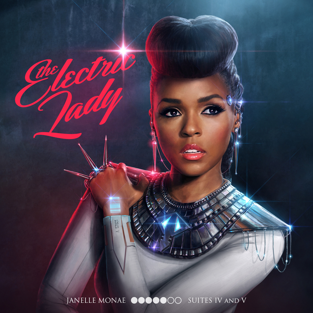 The Electric Lady Deluxe Album Cover