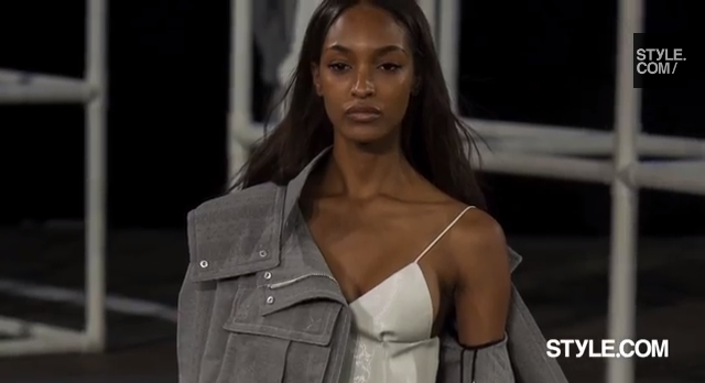 Jourdan Dunn for Alexander Wang NYFW Classy Black Girl