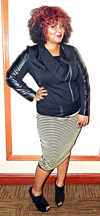 Marie Leggette, The Curvy Fashionista