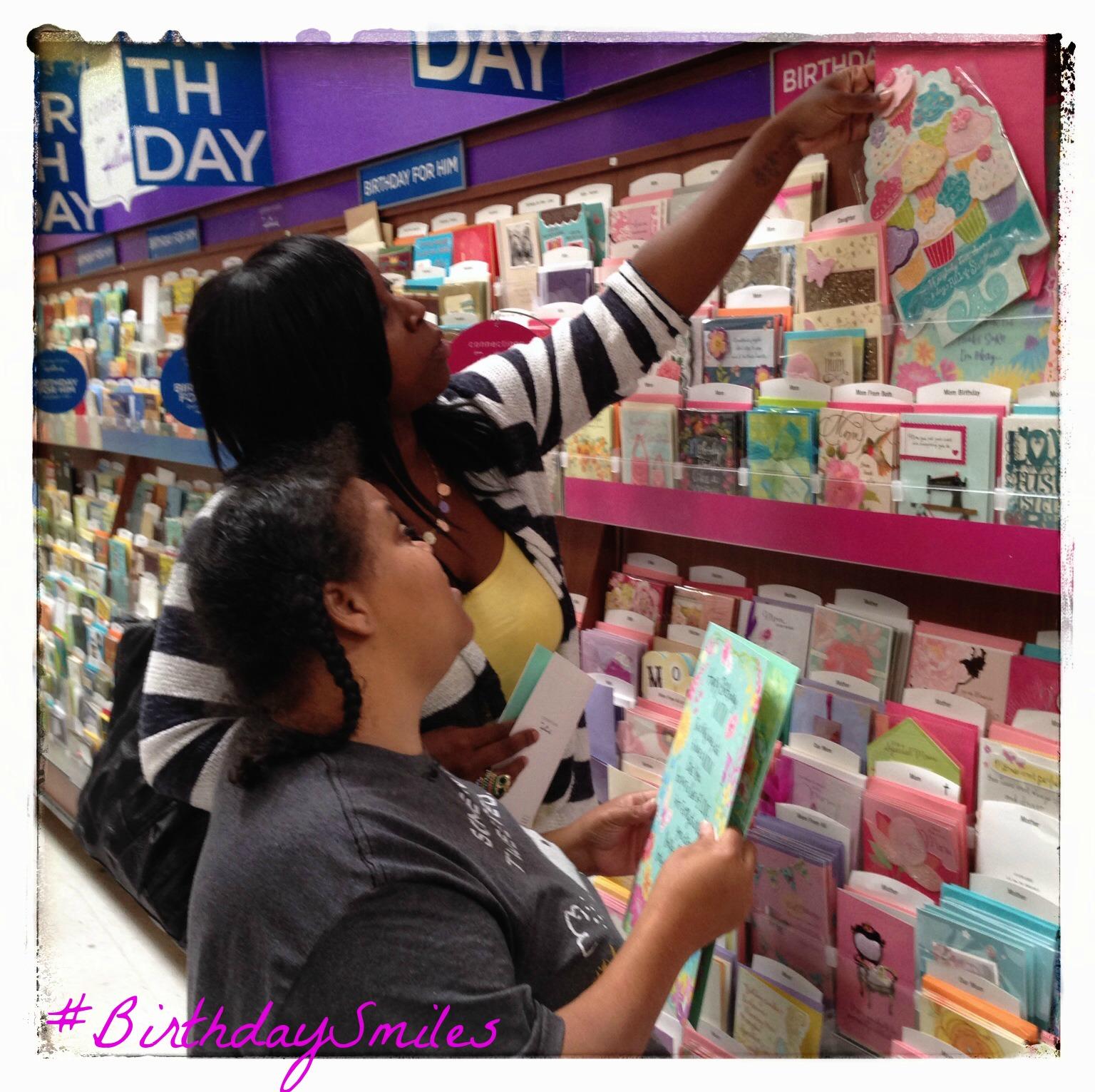 #BirthdaySmiles #shop #cbias CBG191310 Hallmark ClassyBlackGirl Sisters REAL