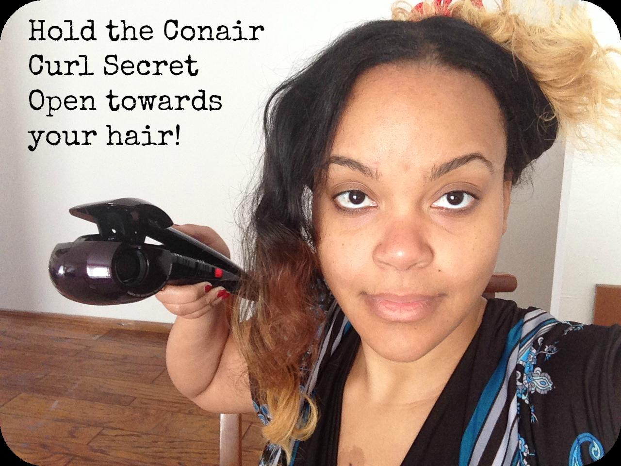 Conair Curl Secret Open #shop CBG191310 Classy Black Girl