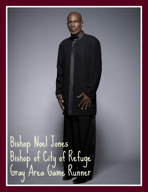 Noel Jones Preacher of LA Gray Area Mastermind USE