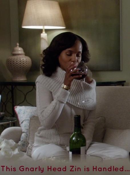 Olivia Pope Red Wine Gnarly Head Classy Black Girl CBG191310 USE