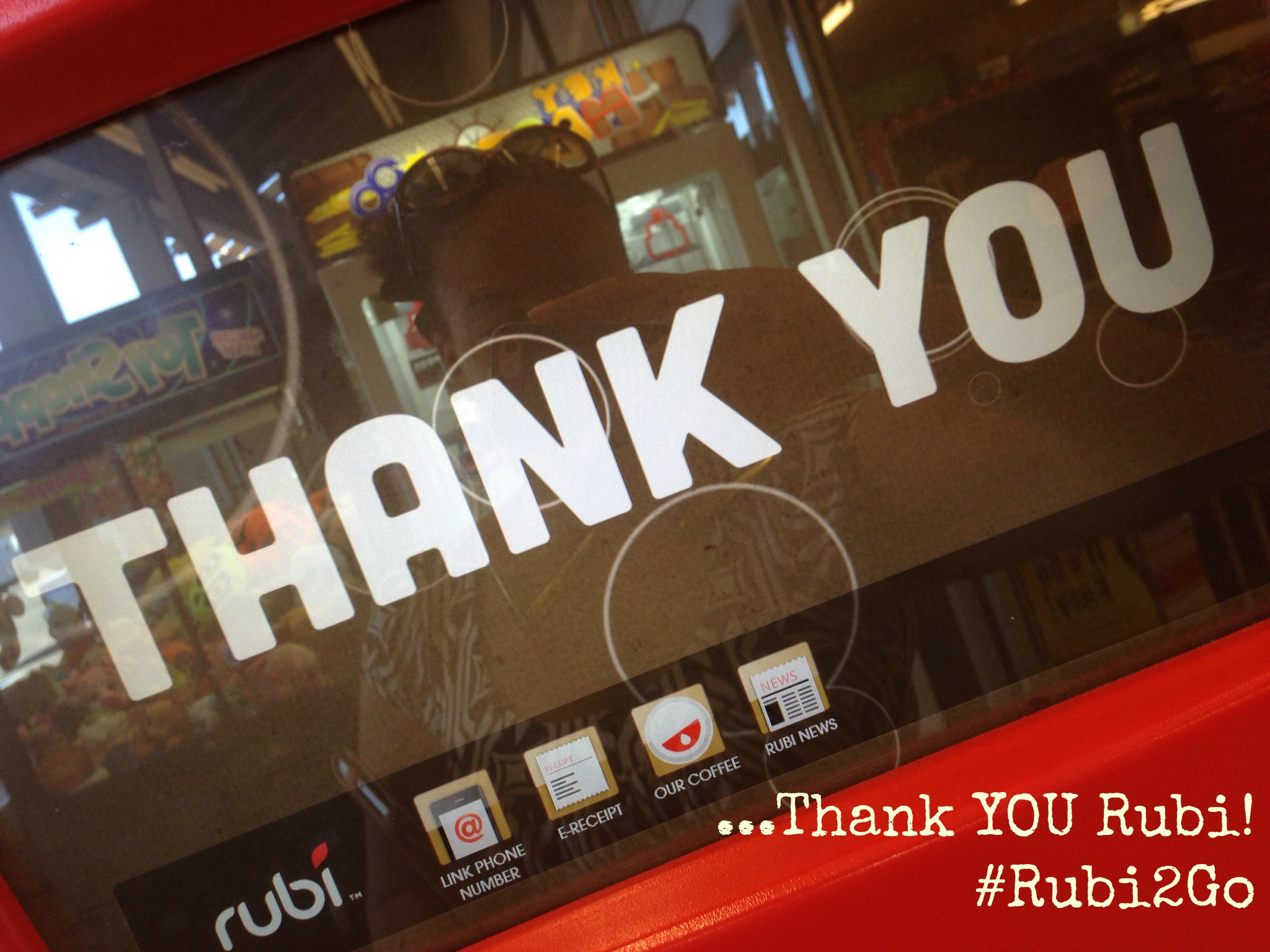 Rubi Kiosk Thank You