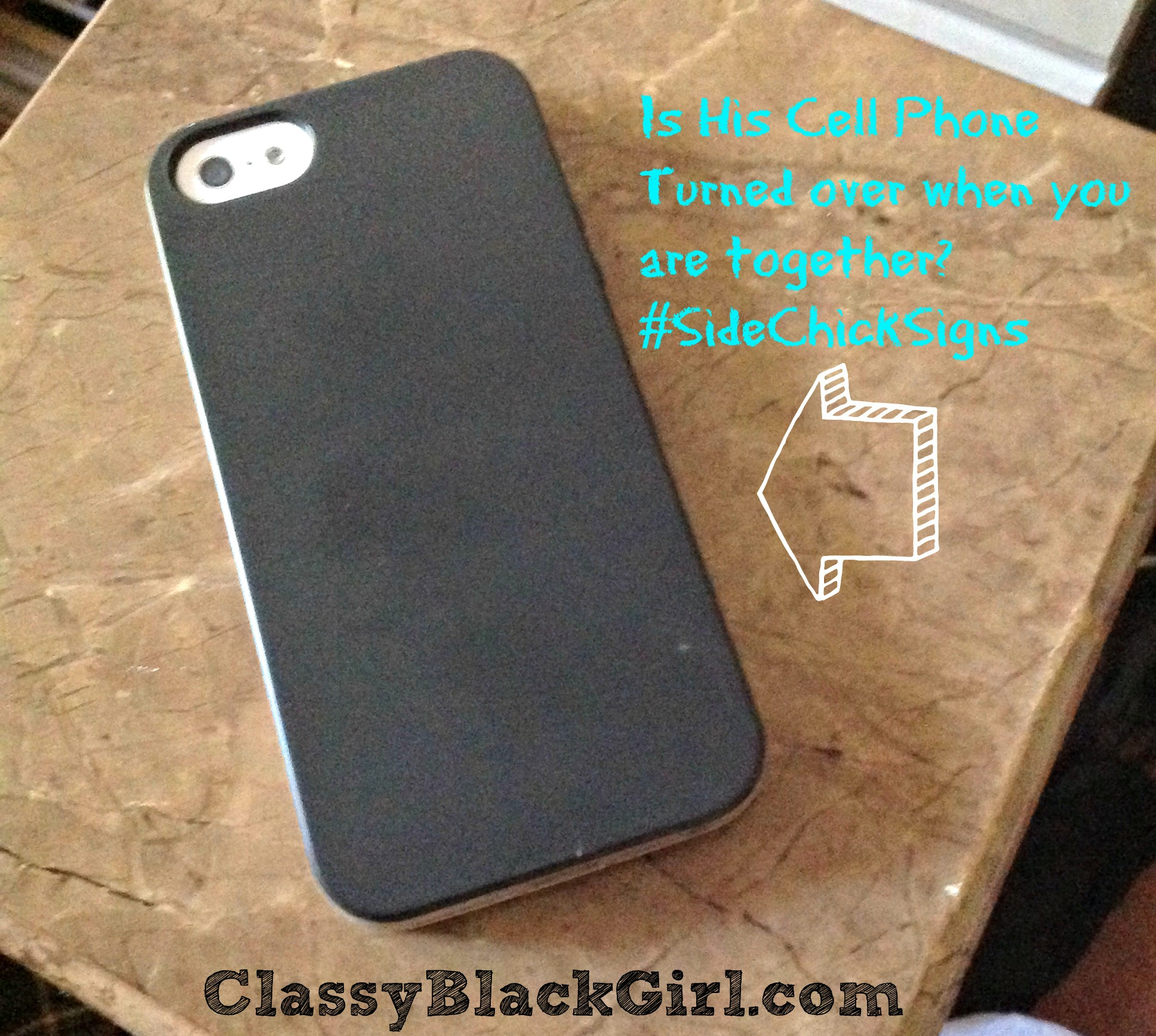 Phone Turned Over ClassyBlackGirl Side Chick