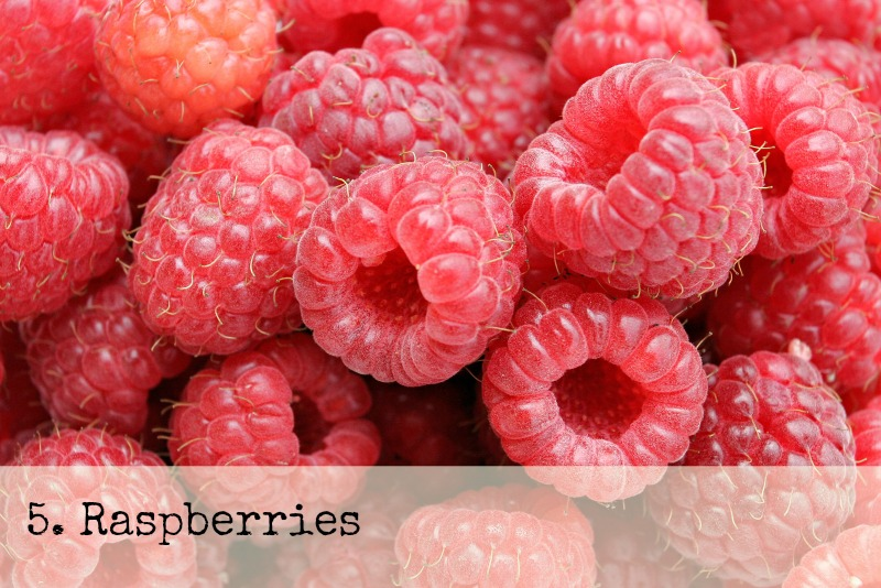 Raspberries use