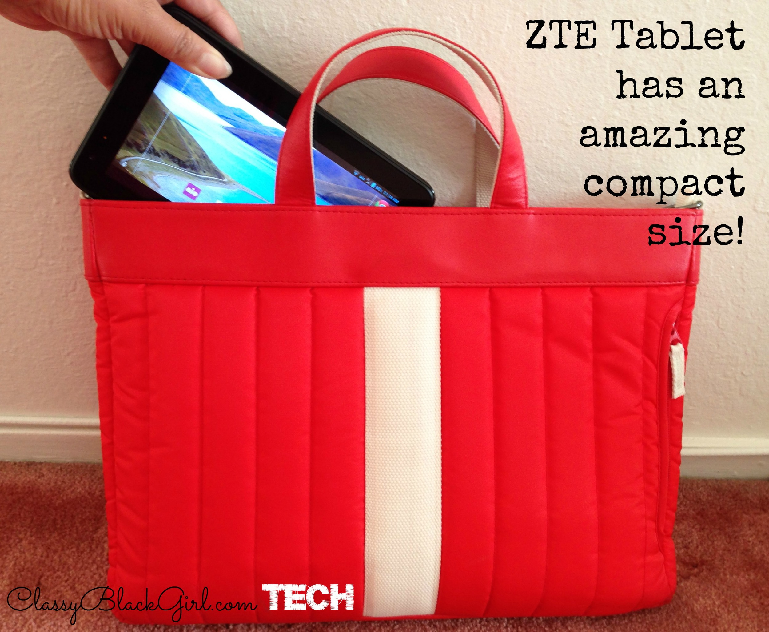 ZTE Table Compact Size ClassyBlackGirlTech