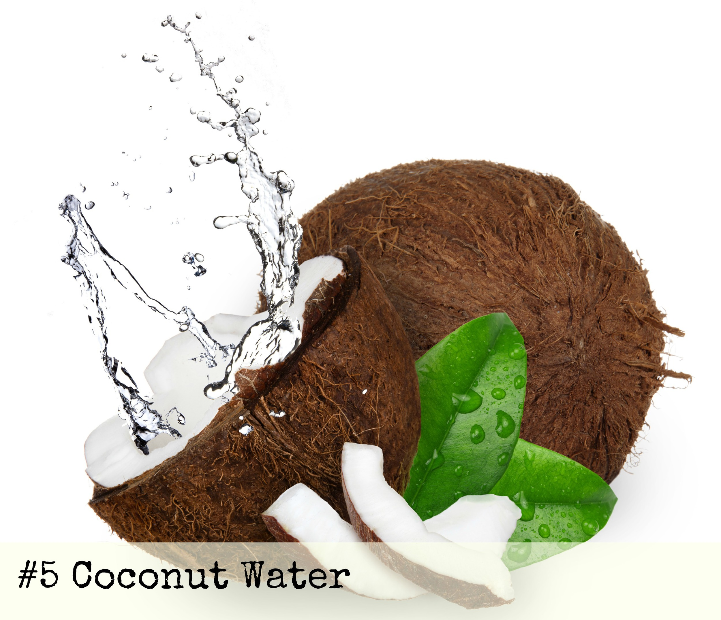 coconut water use